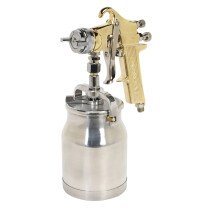 Sealey S701 Spray Gun Professional GOLD Series Suction Feed