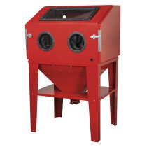 Sealey SB974 Shot Blasting Cabinet Double Access 960 x 720 x 1500mm