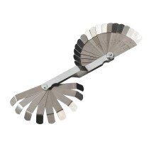 Sealey VS515 Feeler Gauge 26 Blade Offset Dual Marked