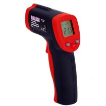 Sealey VS904 Infrared Laser Digital Thermometer 8:1