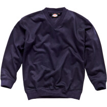 Dickies SH11150 V Neck Sweatshirt Navy Blue SH11150