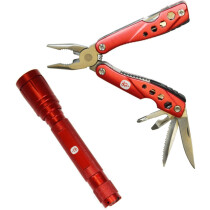 Spear and Jackson SJ1760 Multi-Tool and Torch Set