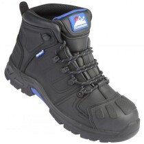 Himalayan 5209 Storm Black Leather Waterproof Safety Boot Metal Free S3 SRC