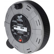 SMJ CT1013 10 Metre 4 Socket Cable Reel with Thermal Cutout