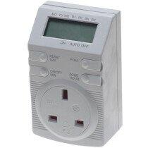SMJ DT4B1C Avantix Digital 4 Button Timer SMJDT4B1C