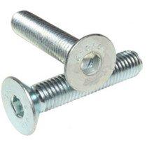 Masonmate Z1151M490030 M6 x 30 Socket Countersink Screw Zinc Plated - Box 200