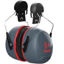 JSP AEB040-0C1-A00  Sonis® 3 Helmet Mounted Ear Defenders - SNR 36