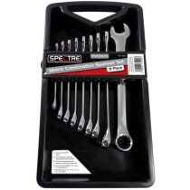 Spectre SP-17001 9 Piece Combination Spanner Wrench Set 8mm - 19mm