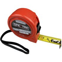 Spectre SP-17029 General Duty 5m/16ft x 19mm Dual-Marked Steel Tape Measure