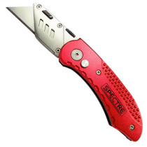 Spectre SP-17030 Aluminium Handled Locking Utility Knife