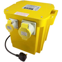 Spectre SP-17033 5kVA 110v Site Transformer 2 x 16A and 1 x 32A Outlets
