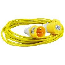Lawson HIS 17034 16 Amp 110v Volt  x 10 Metre 1.5mm Extension Cable Lead