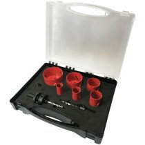 Spectre SP-17062 9 Piece Plumbers Holesaw Set