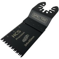 Spectre SP-17212 34 x 40mm Japanese - Tooth Multi-Tool Precision Plunge Blade (Each Blade)