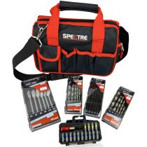 Spectre SP-17231 Wood, Metal, Masonry Drill and Screwdriver Kit