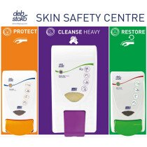 Deb SSCSLM42EN Stoko Skin Safety Centre 3-Step (Small)