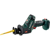 Metabo SSE18LTX Body Only 18v Compact Reciprocating Saw with Metaloc Case