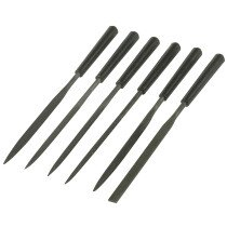 Stanley 0-22-500 Needle File Set 6 Piece 150mm (6in) STA022500