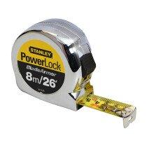 "Stanley 0-33-526 8m/26'x1"" PowerLock® Tape Measure STA033526"