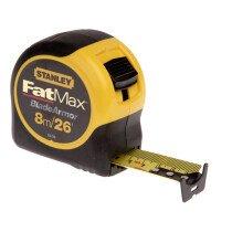 Stanley 0-33-726 FatMax® Tape Measure 8m/26ft STA033726