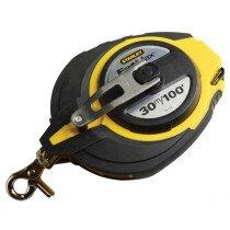 Stanley 0-34-132 FatMax Long Tape 30m (Width 9.5mm) STA034132