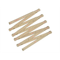 """Stanley 0-35-455 Wooden Folding Rule 2m (78"""") STA035455"""