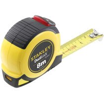 Stanley STHT36804-0 Dual Lock Tylon™ Pocket Tape with Metric Graduations Only 8m (Width 25mm) STA036804