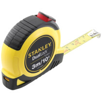 Stanley STHT36805-0 Dual Lock Tylon™ Pocket Tape with Metric and Imperial Graduations 3m (Width 12mm) STA036805