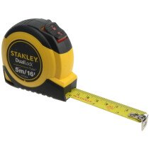 Stanley STHT36806-0 Dual Lock Tylon™ Pocket Tape with Metric and Imperial Graduations 5m/16ft (Width 19mm) STA036806