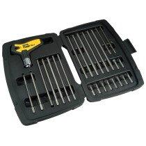 Stanley 0-79-153 FatMax T Handle Ratchet Power Key Set 27 Piece STA079153