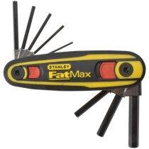 Stanley 0-97-552 FatMax® Locking Hexagon Key Set Metric 8 Piece (1.5- 8mm) STA097552