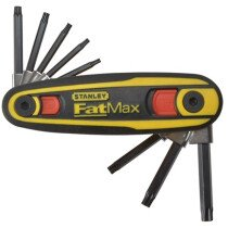 Stanley 0-97-553 FatMax Torx Key Locking Set 8 Piece (T9-T40) STA097553