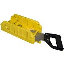 Stanley 1-19-800 Saw Storage Mitre Box with Saw STA119800