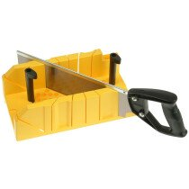 Stanley 1-20-600 Clamping Mitre Box & Saw STA120600