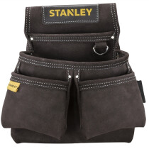 Stanley STST1-80116 Leather Double Nail Pocket Pouch STA180116