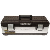 Stanley 1-95-620 Galvanised Metal Toolbox 66cm (26in) STA195620