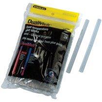 Stanley 1-GS10DT Dual Temp Mini Glue Sticks 7 x 100mm (Pack 24) STA1GS10DT