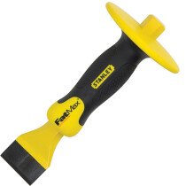 Stanley 4-18-333  FatMax Masons Chisel 45mm (1.3/4in) with Guard STA418333