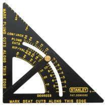 Stanley 46-053 Adjustable Quick Square 170mm (6.3/4in) STA46053