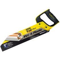 Stanley 2-17-206 FatMax PVC & Plastic Saw 300mm (12in) 11tpi STA217206