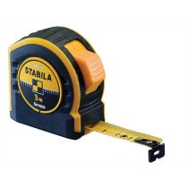 Stabila 17748 Pocket Tape Measure 10m / 33ft