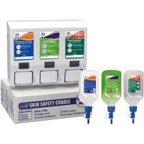 Deb DCSP01PR Skin Safety Van Cradle 3-Step Starter Pack
