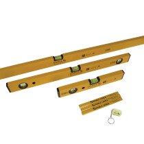 Stabila 70-2 14955 Double Plumb Spirit Level Pack 30cm 60cm & 180cm STB702COMBI