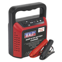 Sealey STC40 Battery Charger 6/12V 4Amp 230V