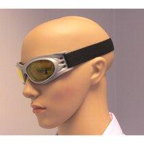 JSP Stealth 6003 Safety Spoggle Foam Lined Amber Lens