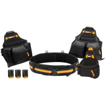Toughbuilt TB-CT-101-4 Contractor Tool Belt Set 4 Piece T/BCT1014
