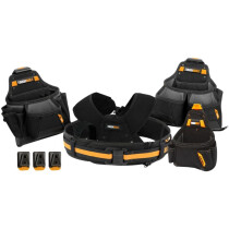 Toughbuilt TB-CT-101-5 Pro Contractor Tool Belt Set 5 Piece T/BCT1015