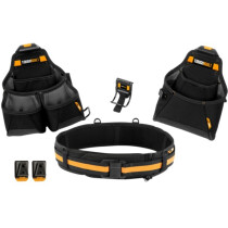 Toughbuilt TB-CT-102-4 Builder Tool Belt Set 4 Piece T/BCT1024
