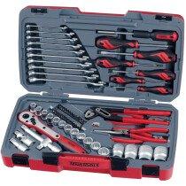 Teng Tools T1268 68 Piece Metric Socket Set with Tool Kit