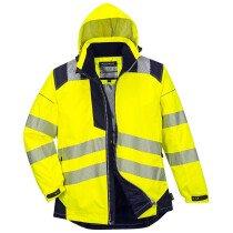 Portwest T400 PW3 Hi-Vis Winter Jacket - Various Colours Available